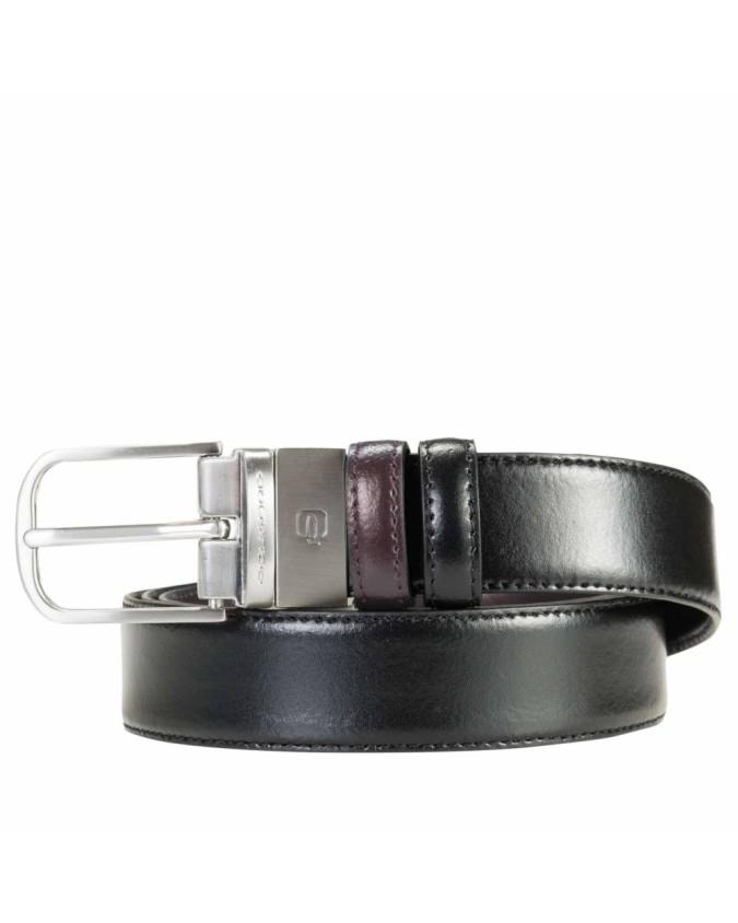 PIQUADRO - Cintura fibbia ad...