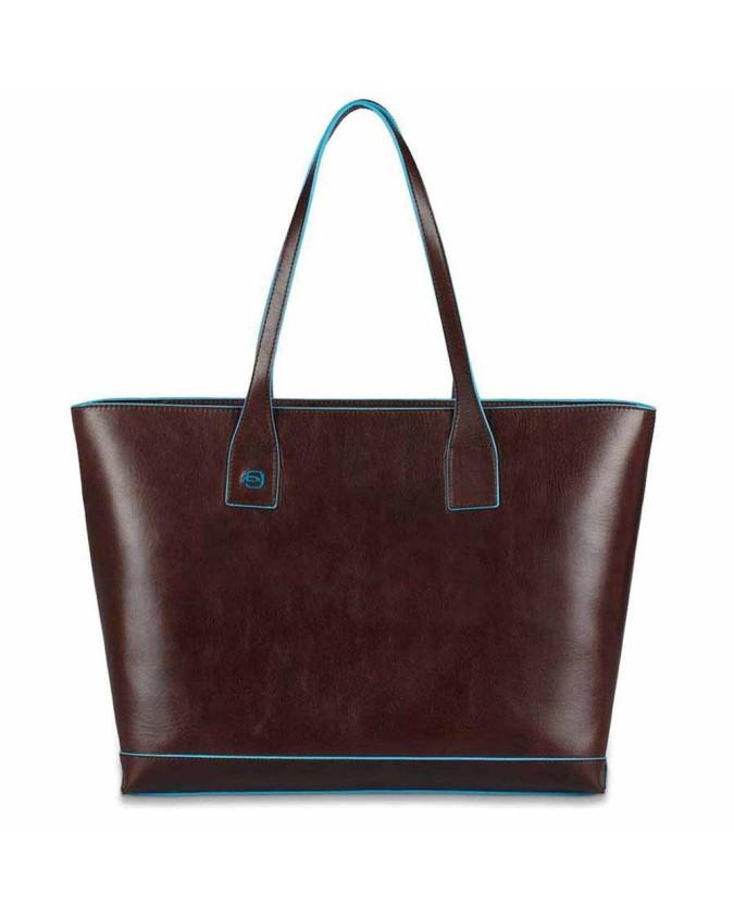 PIQUADRO - Shopping bag in pelle sfoderata - BD3336B2
