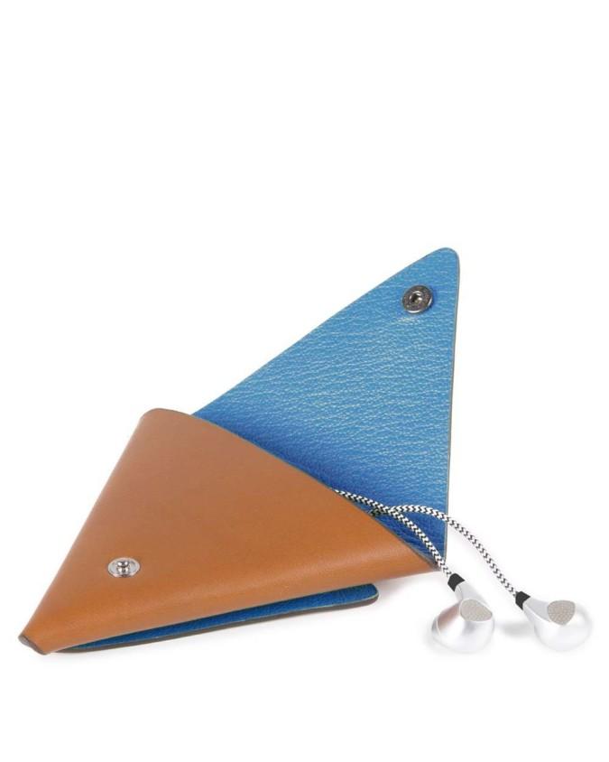 Piquadro - Custodia a triangolo in...