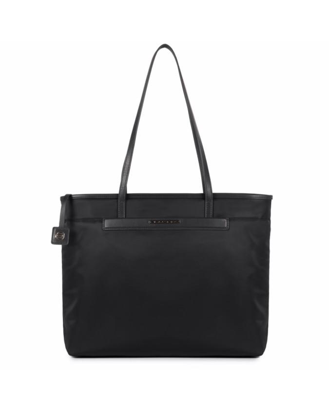PIQUADRO - Shopping bag in pelle e...