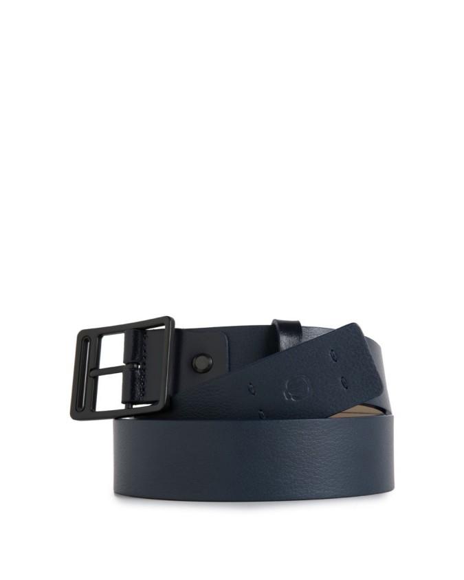 PIQUADRO - Cintura 35mm in pelle - Blu - CU3415P15/BLU3