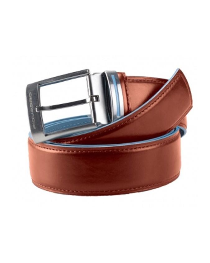 PIQUADRO - Cintura con fibbia ad...