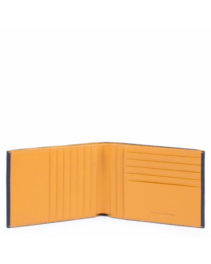Piquadro - Portafoglio uomo, porta carte di credito in pelle -
