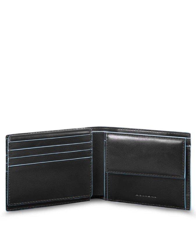 PIQUADRO - Portafoglio uomo in pelle - PU4518B2R/N