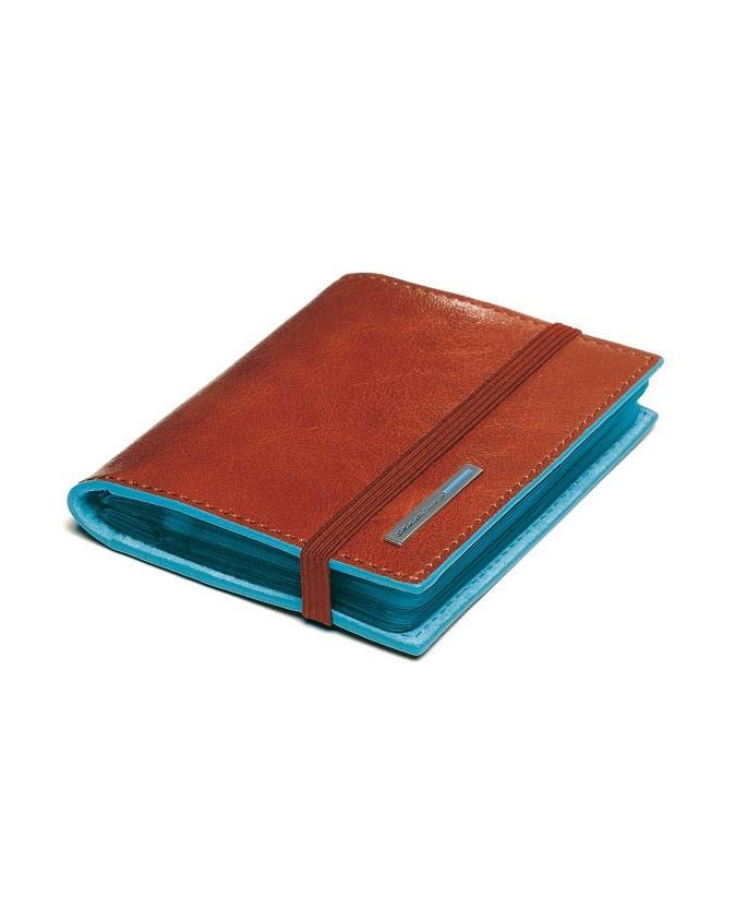 PIQUADRO - Porta Carte di credito tascabile - Arancio - PP1395B2/AR