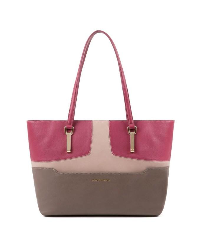 Piquadro - Shopping bag porta...