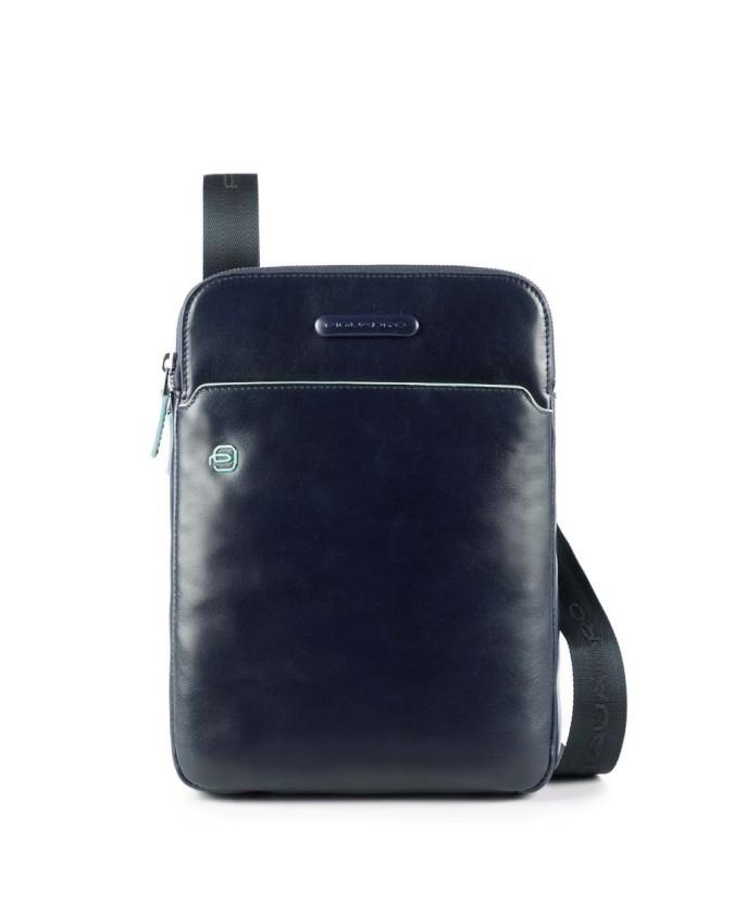 Piquadro - Borsello porta iPad®Air/Pro 9,7 con porta penne Blue