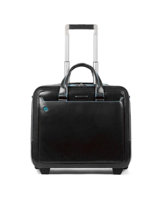 Piquadro - Cartella trolley porta computer e porta iPad® Blue Square - BV5014B2