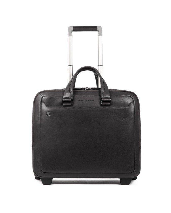 Piquadro - Cartella trolley porta computer e porta iPad® Black