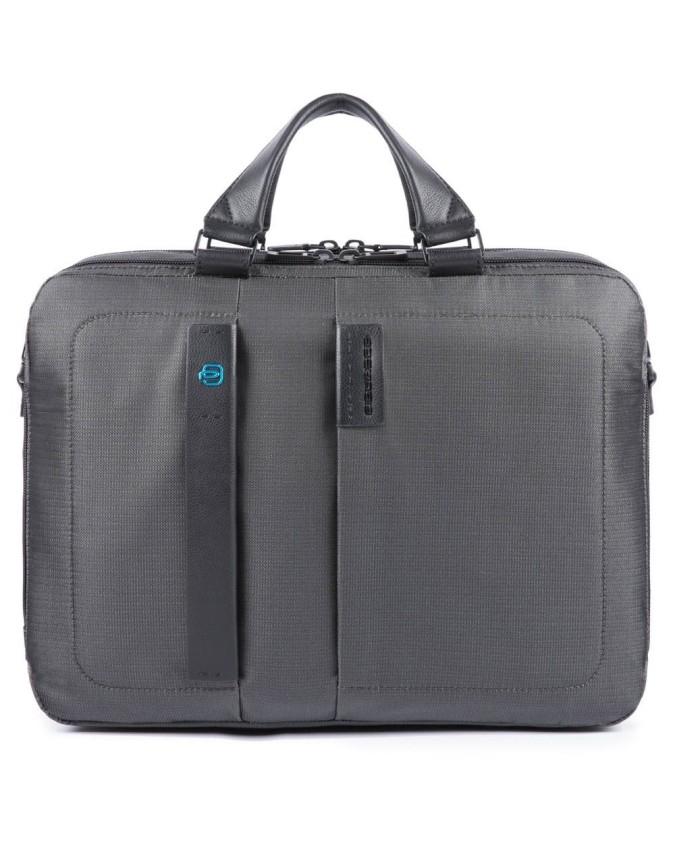 Piquadro - Cartella a due manici porta computer e porta iPad®
