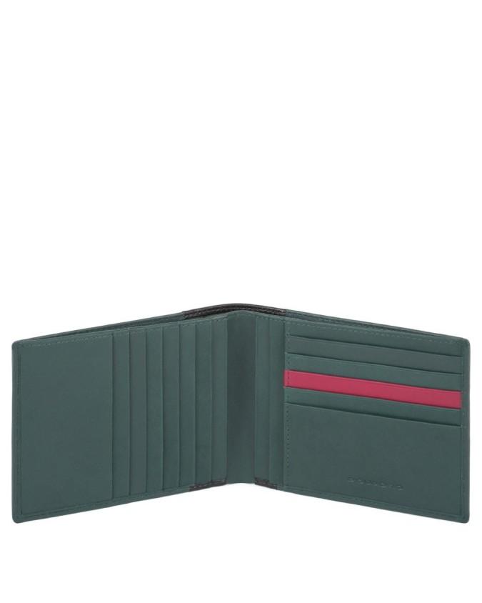 Piquadro - Portafoglio uomo con dodici scomparti porta carte