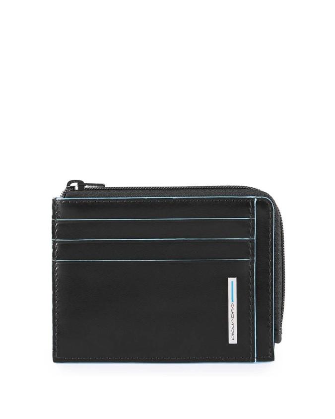Piquadro - Bustina portamonete, documenti e carte di credito Blue Square - PP4822B2R