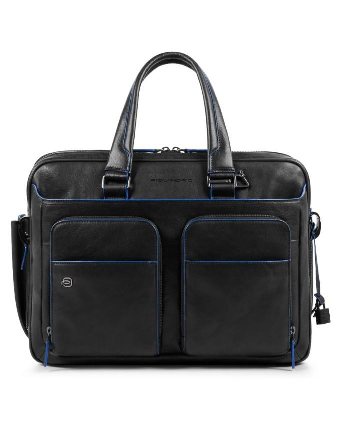 """Piquadro - Borsa espandibile porta PC e porta iPad®10,5""""/iPad 9,7"""" con tasche organizzate - CA2765B2S"""