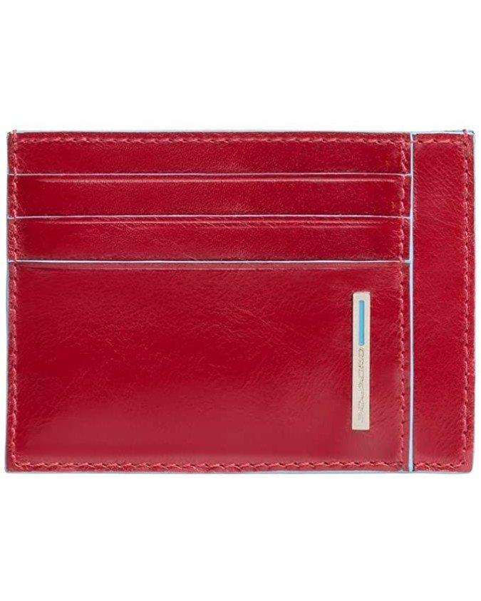 PIQUADRO - Porta carte di credito in pelle - PP2762B2R