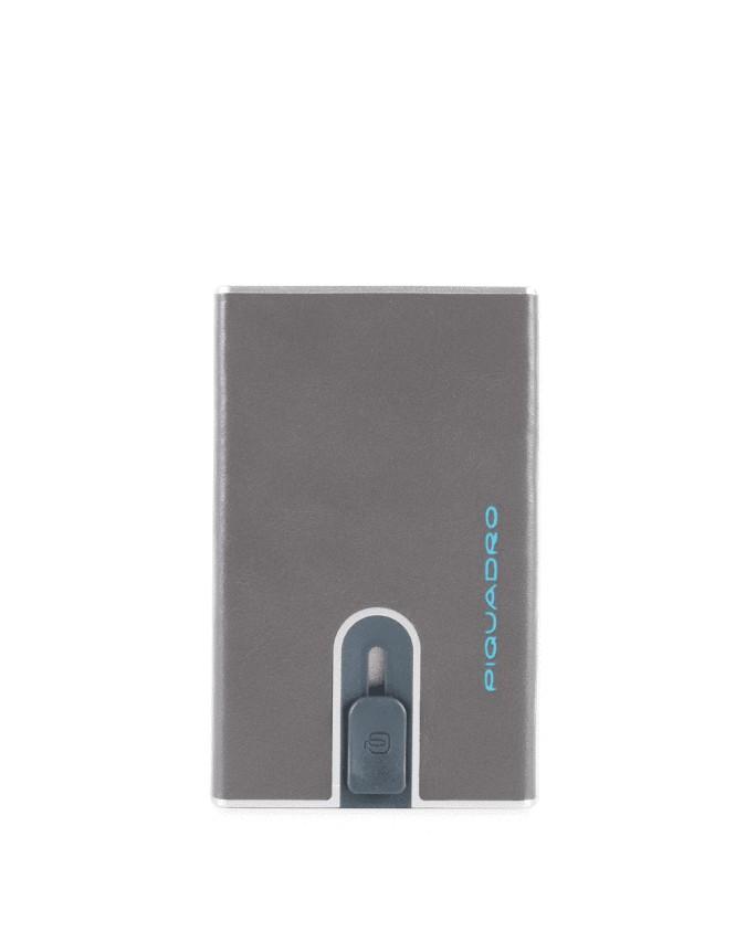 Piquadro - Porta carte di credito con sliding system Blue Square - PP4825B2R