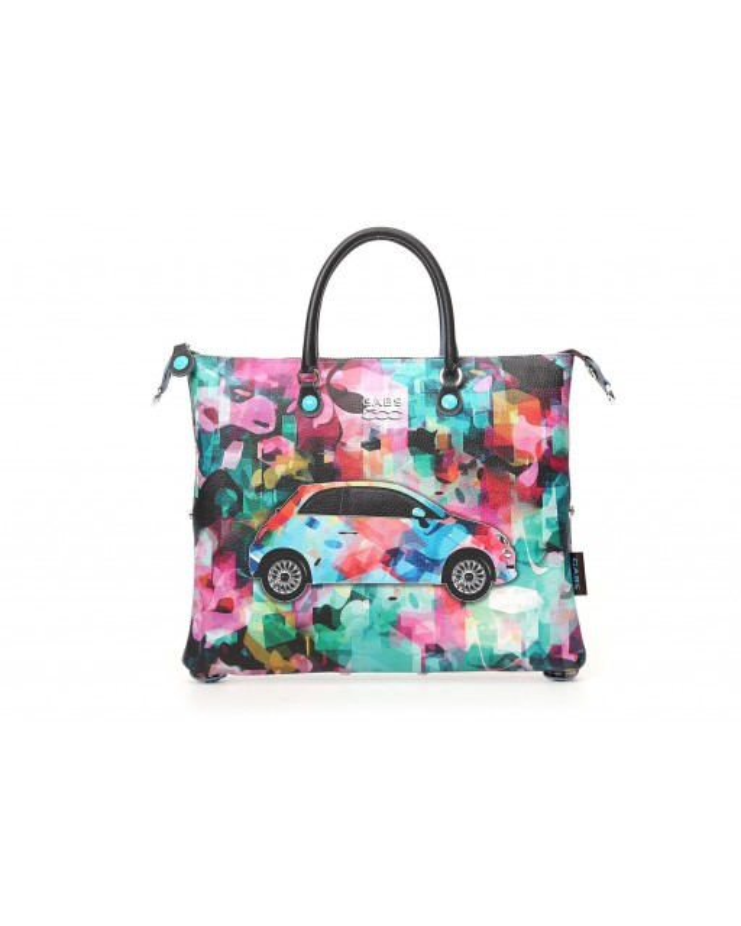 Gabs - Shopping piatta G3 L stampa Fiat - G000030T3X1720