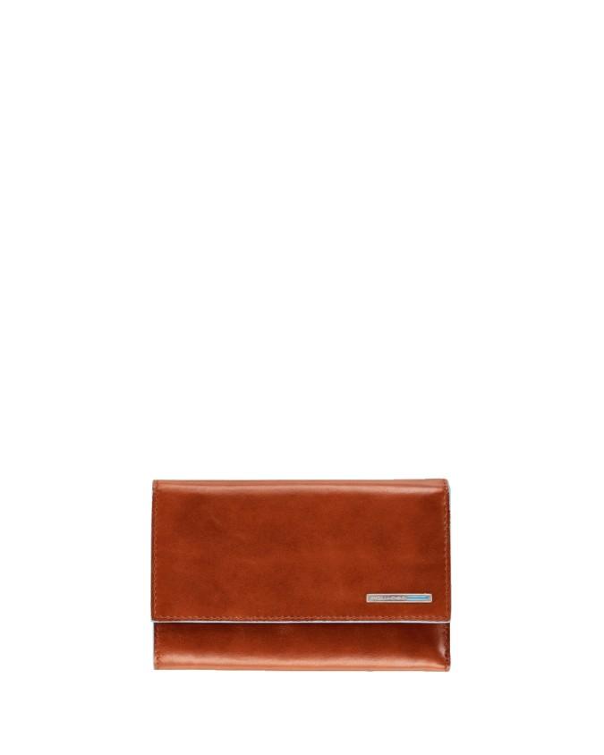 Piquadro - Portafoglio donna in Pelle - Arancione - Blue Square - PD1853B2/AR