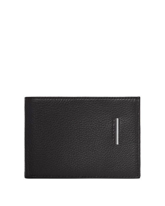 PIQUADRO - Portafoglio uomo porta credit card in pelle - Nero -