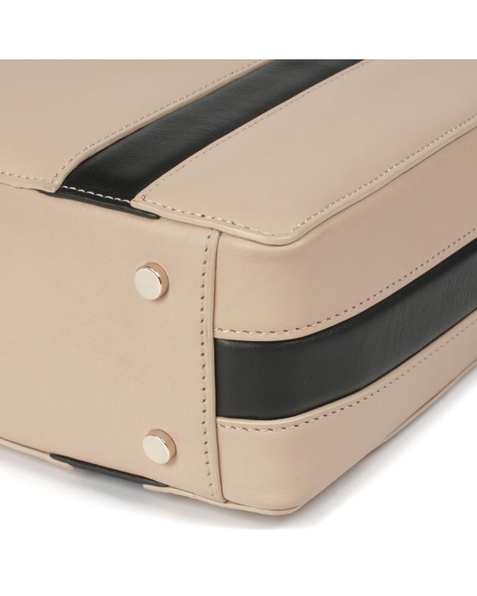 PIQUADRO - Shopping bag in pelle -...