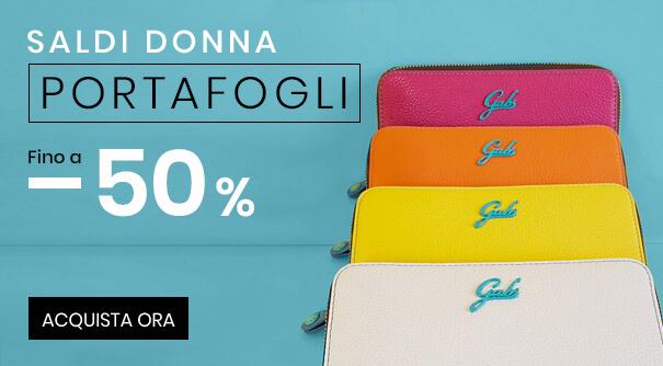 Saldi Portafogli Donna -50%