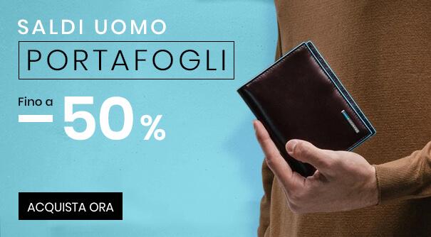 Saldi Portafogli Uomo -50%