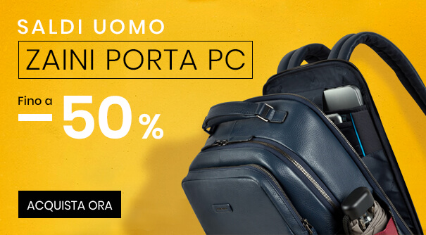 Saldi Zaini Porta PC -50%